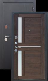 Нью-йорк 7.5 см Черный муар/Мускат металлическая входная дверь