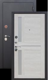 Нью-йорк 7.5 см Черный муар/Перламутр металлическая входная дверь