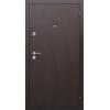 Сопрано Антик медь/Дуб шоколад входная дверь