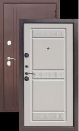 Троя 10 см Антик медь / Белый ясень металлическая входная дверь