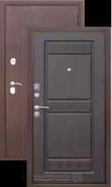 Троя 10 см Антик медь/Венге металлическая входная дверь