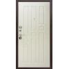 Гарда 8мм Антик медь/Ясень белый металлическая входная дверь