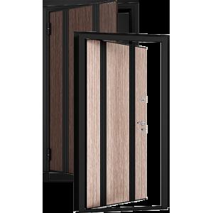Tepla 12 Антик медь/беленый дуб металлическая входная дверь
