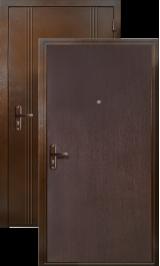 Тепла 7 металлическая входная дверь