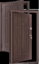 Tepla 13 Тик/венге металлическая входная дверь