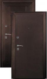 ДорЭко 5 мет/мет антик медь металлическая входная дверь