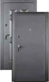 ДорЭко 6 мет/мет антик серебро металлическая входная дверь