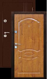 Экстра Золотой дуб металлическая входная дверь