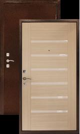 Оптима С беленый дуб металлическая входная дверь