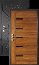 Модерн металлическая входная дверь