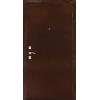 Оптима С темный орех металлическая входная дверь