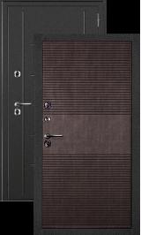 Термаль венге металлическая входная дверь