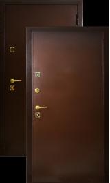Эталон 100 металл металл металлическая входная дверь