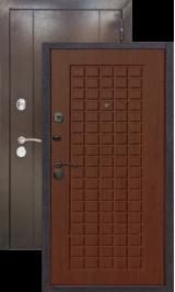 Эталон 20 Антик медь/кедр металлическая входная дверь