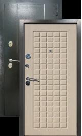 Эталон 20 Антик серебро/седой дуб металлическая входная дверь