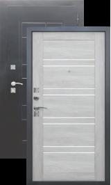 Dominanta Царга Серебро/Дуб шале белый входная дверь