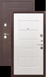 Гарда 7.5 мм. Антик медь/Белый ясень металлическая входная дверь