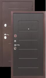 Гарда 7.5 мм. Антик медь/Венге металлическая входная дверь