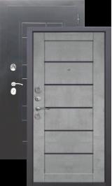 Гарда Царга Серебро/Бетон серый металлическая входная дверь