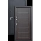 Эверест Черный графит/Венге металлическая входная дверь