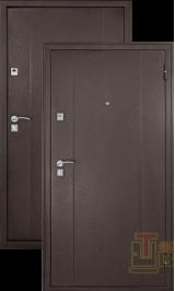 Форпост 72 мет/мет металлическая входная дверь