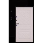 ГЕРМЕС стандарт антик медь/беленый дуб металлическая входная дверь