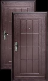 ГЕРМЕС К13 Эконом металлическая входная дверь