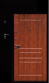ГЕРМЕС стандарт антик медь/золотистый опал металлическая входная дверь