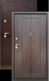 ГЕРМЕС Волна медь-клен металлическая входная дверь