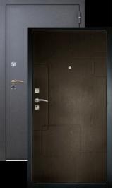 Хит-1 черный шелк-венге металлическая входная дверь