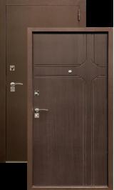 Хит 10 антик медь венге металлическая входная дверь