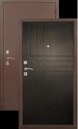 Хит-3 медь-венге металлическая входная дверь
