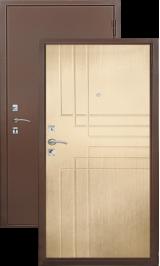 Хит-4 медь - беленый дуб металлическая входная дверь