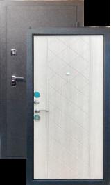 Хит 11 медь-беленый дуб металлическая входная дверь