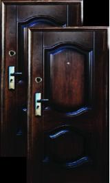 L-107 металлическая входная дверь