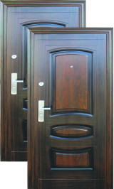 L-108 (теплая) металлическая входная дверь