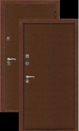 Крепость-8 мет/мет антик медь металлическая входная дверь