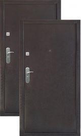 Крепость-9 мет/мет антик медь (эконом) металлическая входная дверь