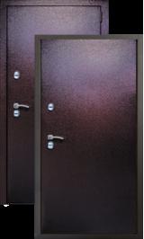 KVADRA ТЕРМО металл/металл металлическая входная дверь