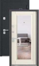 Mone черный шелк ясень кремона с зеркалом металлическая входная дверь