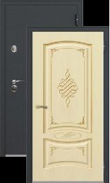Легион 1 черный шелк/рим металлическая входная дверь