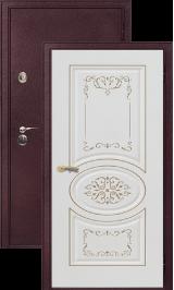 Легион 2 шелк бордо/президент металлическая входная дверь