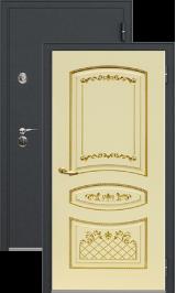 Легион 1 черный шелк/алина металлическая входная дверь