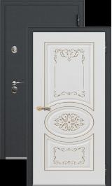 Легион 1 черный шелк/президент металлическая входная дверь