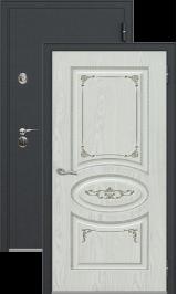 Легион 1 черный шелк/верона металлическая входная дверь