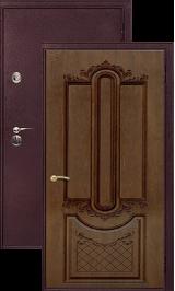 Легион 2 шелк бордо/александрия металлическая входная дверь