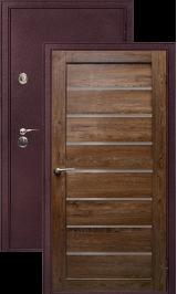 Легион 2 шелк бордо/кипарис металлическая входная дверь