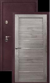 Легион 2 шелк бордо/серый кедр металлическая входная дверь
