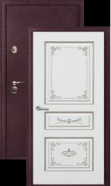 Легион 2 шелк бордо/вена металлическая входная дверь