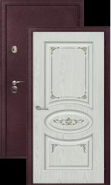 Легион 2 шелк бордо/верона металлическая входная дверь